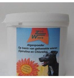 Zoowiera Chlorella Spirulina Algenpoeder hond  300 gr.