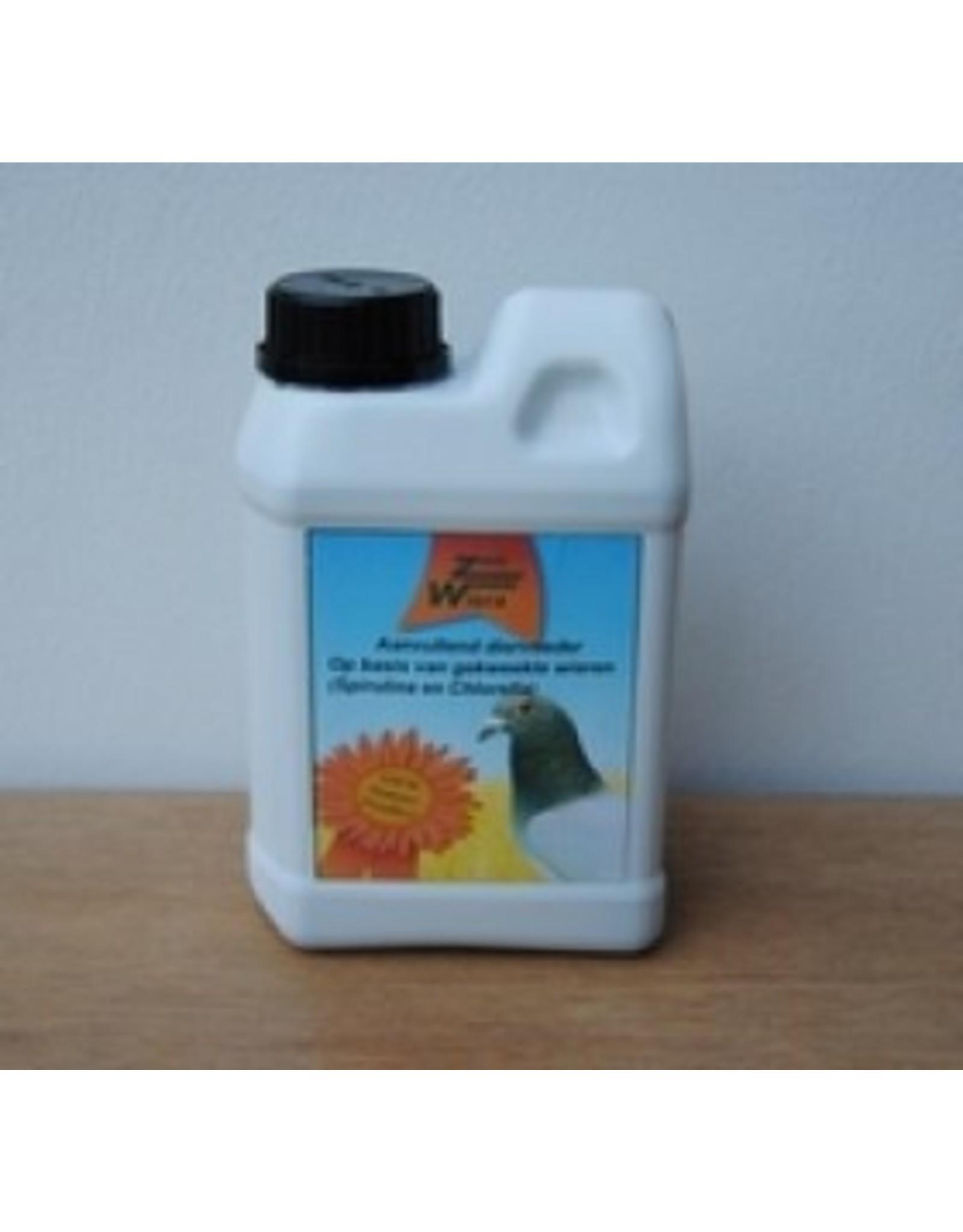 Zoowiera Chlorella-spirulina vloeibaar  Zoowiera duif 1 l