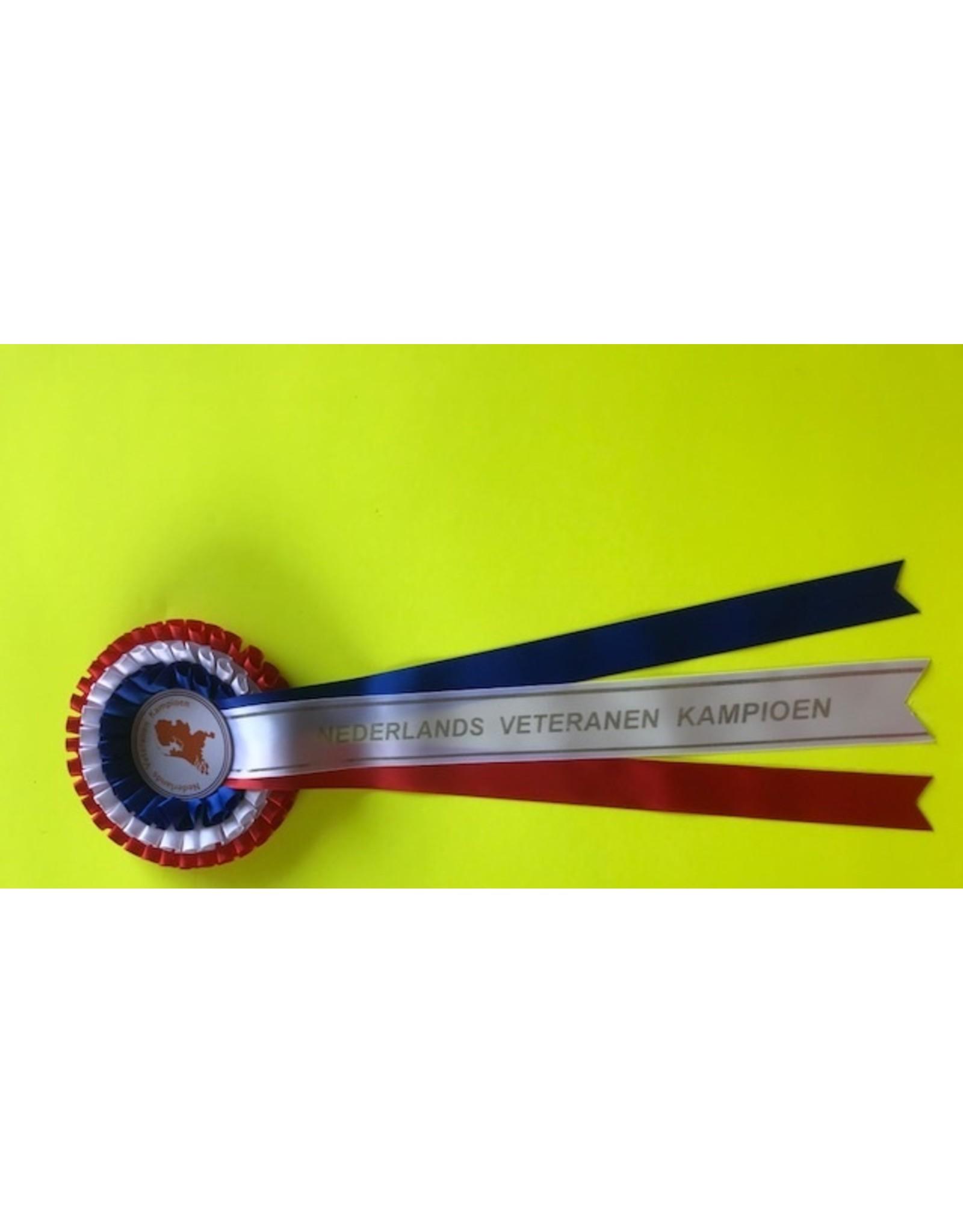 Nederlands veteraan kampioen