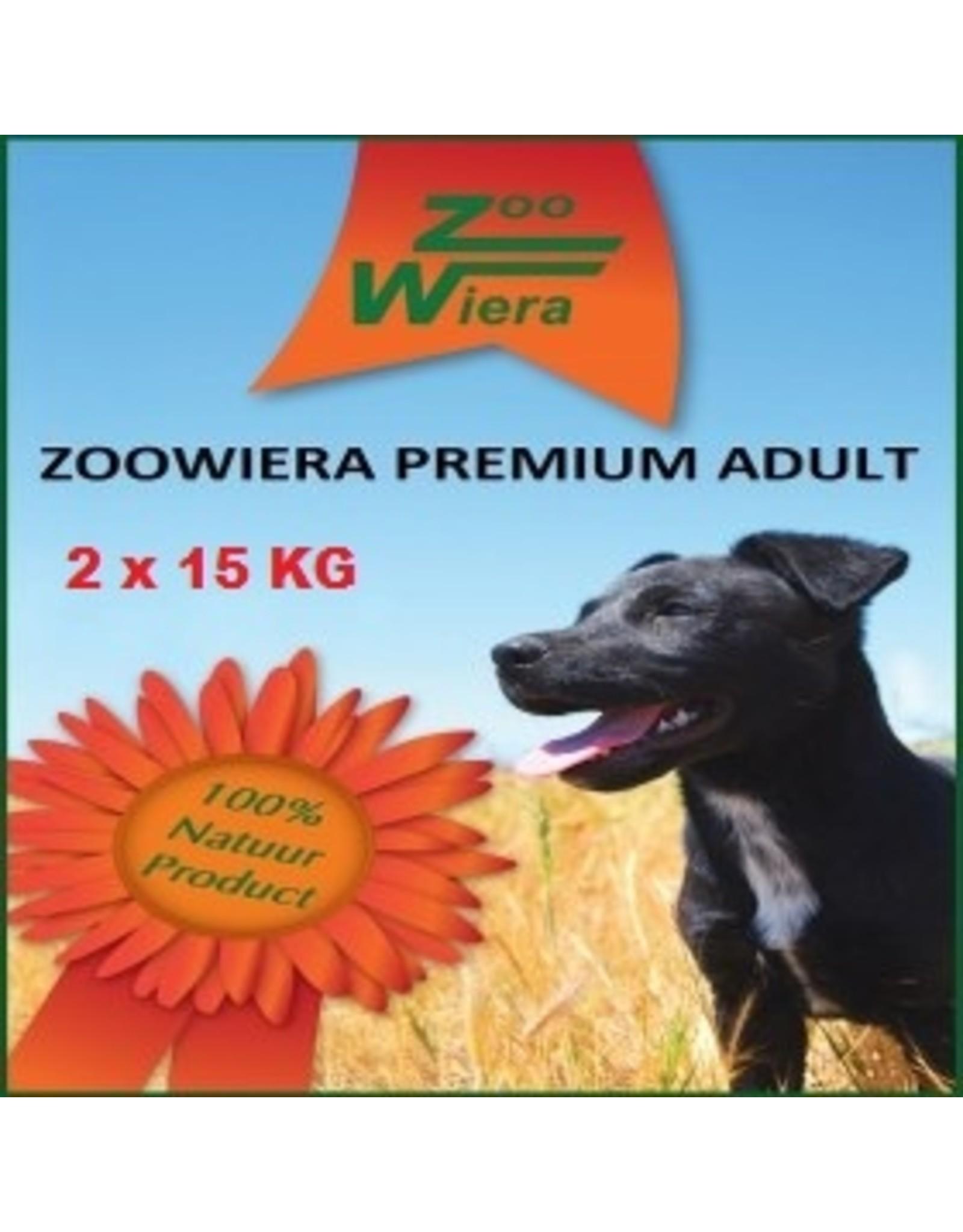 Zoowiera Zoowiera premium adult 30 kg