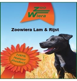 Zoowiera Zoowiera premium lam en rijst 15 kg