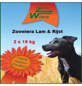 Zoowiera Zoowiera Lam & rijst 30 kg
