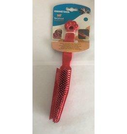 ferplast Ferplast rubberborstel voor de hond en op stof