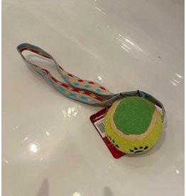 flamingo Tennisbal met handvat