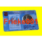 Vatican 50 cent 2011 + stamp in coincard 1st