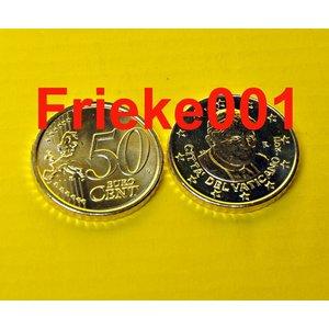 Vatican 50 cent 2011 unc