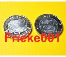 Finland 5 euro 2011 unc.(Uusimaa)