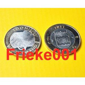 Finlande 5 euro 2011 unc.(Uusimaa)