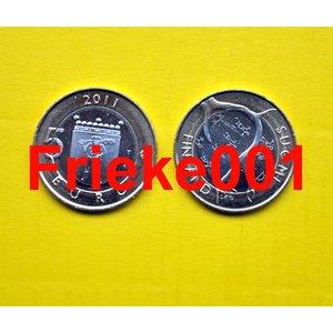 Finlande 5 euro 2011 unc.(Laponie)