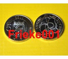 Finland 5 euro 2011 unc.(Tavastia)