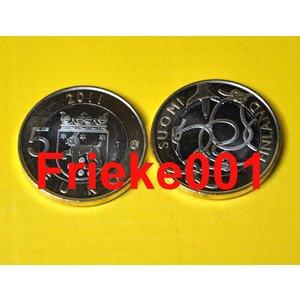 Finlande 5 euro 2011 unc.(Tavastia)