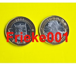 Finland 5 euro 2011 unc.(Ostrobothnia)