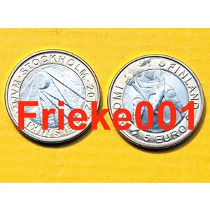 Finland 5 euro 2012 unc.(Ice Hockey)