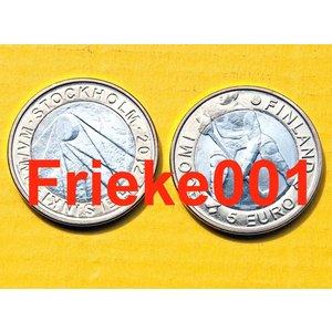Finlande 5 euro 2012 unc.(Hockey sur glace)