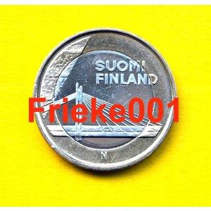Finland 5 euro 2012 unc.(Candle Bridge)