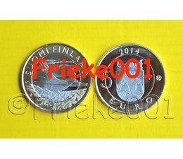 Finland 5 euro 2014 unc.(Karelia Cuckoo)