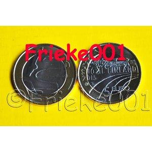 Finlande 5 euro 2015 unc.(Gymnastique)