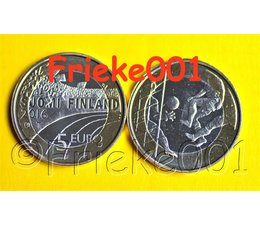 Finland 5 euro 2016 unc.(Voetbal)
