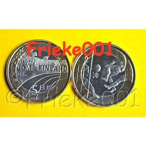 Finland 5 euro 2016 unc.(Soccer)
