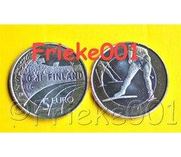 Finland 5 euro 2016 unc.(Skiing)