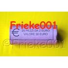 Italie 2 euro rouleau 2011 comm