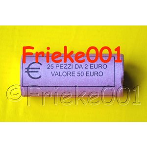 Italy 2 euro roll 2010 comm