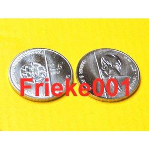 Portugal 2,50 euro 2011 unc.(Querer E Poder)