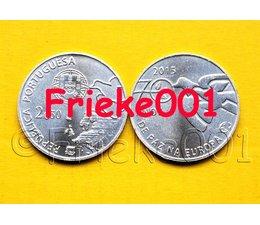 Portugal 2,50 euro 2015 unc.(70 jaar vrede in europa)