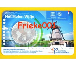 Netherlands 5 euro 2014 mill fiver