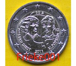 België 2 euro 2011 comm