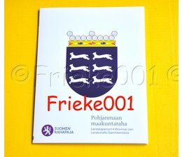 Finland 5 euro 2011 proof in blister.(Ostrobothnia)