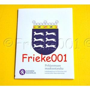 Finlande 5 euro 2011 belle épreuve en blister.(Ostrobotnie)