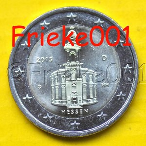 Allemagne 2 euro 2015 comm