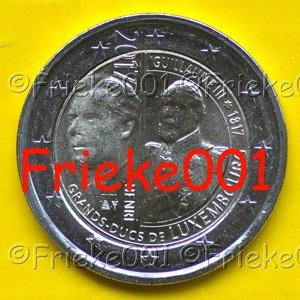 Luxembourg 2 euro 2017 comm.(Guillaume)