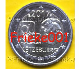 Luxembourg 2 euro 2017 comm.(50 years army)