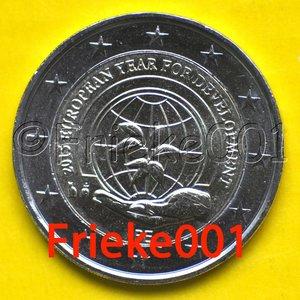 België 2 euro 2015 comm.(Europese ontwikkeling)