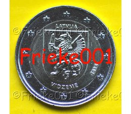 Letland 2 euro 2016 comm.(Vidzeme)