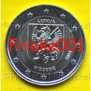 Lettonie 2 euro 2016 comm.(Vidzeme)