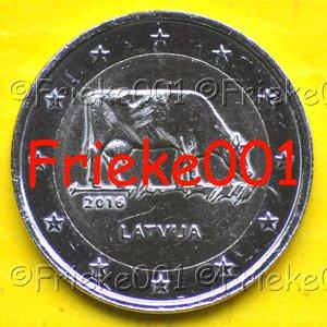 Letland 2 euro 2016 comm.(Melkindustrie)