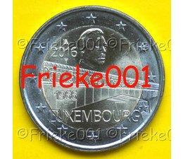Luxembourg 2 euro 2016 comm.(Charlotte Bridge)
