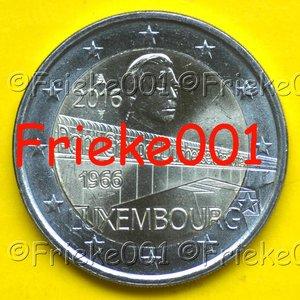 Luxemburg 2 euro 2016 comm.(Charlottebrug)