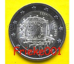 Estland 2 euro 2015 comm.(30 jaar europese vlag)