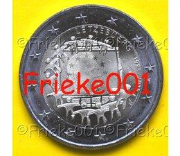 Luxemburg 2 euro 2015 comm.(30 jaar europese vlag)