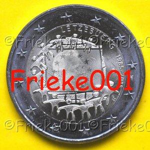 Luxembourg 2 euro 2015 comm.(drapeau européen 30 ans)