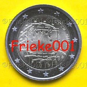 Lithuania 2 euro 2015 comm.(30 years european flag)