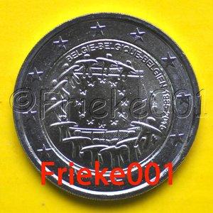 België 2 euro 2015 comm.(30 jaar europese vlag)
