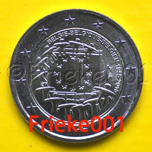 Belgium 2 euro 2015 comm.(30 years european flag)