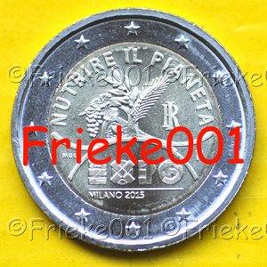 Italy 2 euro 2015 comm.(Expo)