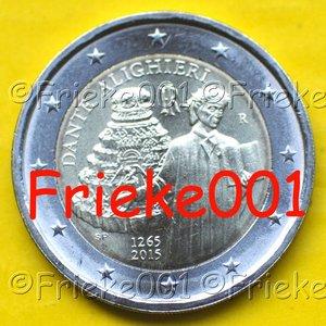 Italië 2 euro 2015 comm.(Dante)