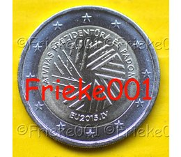 Latvia 2 euro 2015 comm ).(EU Presidency)
